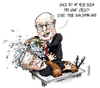 Cartoon: Dick Cheney practices his advanc (small) by barker tagged dick,cheney,joe,biden,waterboarding,iraq,cartoon