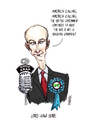 Cartoon: Lord Haw Bore (small) by barker tagged daniel,hannan,mep,healthcare,tory,nhs,cartoon,caricature