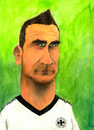 Cartoon: Miro Klose (small) by Mario Schuster tagged karikatur,cartoon,mario,schuster,miro,klose,fussball,deutschland,dfb,wm