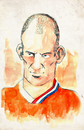 Cartoon: Aryen Robben (small) by Thomas Berthelon tagged berthelon thomas worldcup world cup 2010 mondial football robben