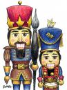 Cartoon: Christmas Card 07 (small) by karlwimer tagged nutcracker,christmas,xmas,season,holiday