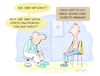 Cartoon: infiziert (small) by droigks tagged diagnose,test,corona,covid,virus,ansteckung,epidemie,verdacht,denunziation,verschwörungstheorie