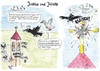 Cartoon: Justine und Juliette (small) by Tom13thecat tagged glaube,religion