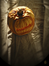 Cartoon: Ugly Jack (small) by birdbee tagged pumpkin photo halloween creepy carve