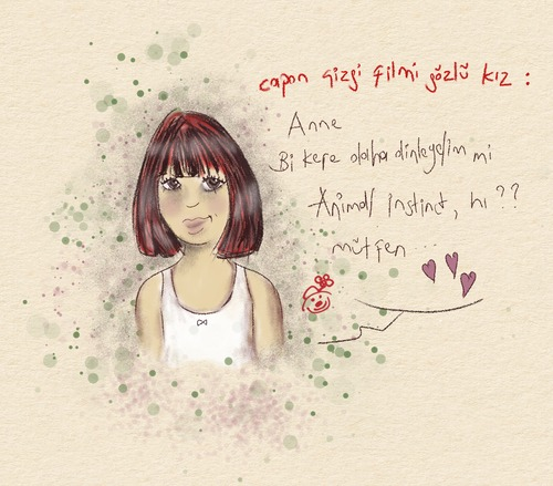 Cartoon: My daughter Imagine... (medium) by Mineds tagged imagine