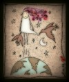 Cartoon: space blog (small) by Mineds tagged space,bird,fly,word