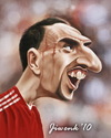 Cartoon: Frank Ribery (small) by Jiwenk tagged ribery