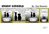 Cartoon: URBAN GERBILS. Muppets (small) by Danno tagged urban,gerbils,cartoon,comic,strip,published,weekly,newspaper,humor,muppets