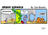 Cartoon: URBAN GERBILS.Achoo! (small) by Danno tagged urban,gerbils,funny,cartoon,comic,strip