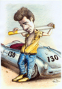 Cartoon: James Dean (small) by Stefan Kahlhammer tagged dean,james,flankale,flankalan,karikatur,caricature,kahlhammer,idol,legende,rebell,giganten