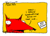 Cartoon: screwed the pooch (small) by ericHews tagged screwed,mistake,american,idioms,screw,oops