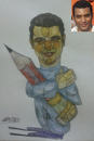 Cartoon: Ahmad Kaoud (small) by omar seddek mostafa tagged ahmad,kaoud