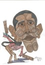 Cartoon: Obama  USA (small) by omar seddek mostafa tagged obama,usa
