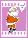 Cartoon: Santa 2014-4 (small) by cosmo9 tagged santa,weihnachten,ende