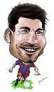 Cartoon: Lionel Messi (small) by Perics tagged lionel,messi,caricature,football,soccer,barcelona,argentina,fifa,uefa,world,cup