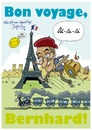 Cartoon: Bon boyage! (small) by Daoiz tagged travel,paris,boyage,eiffel