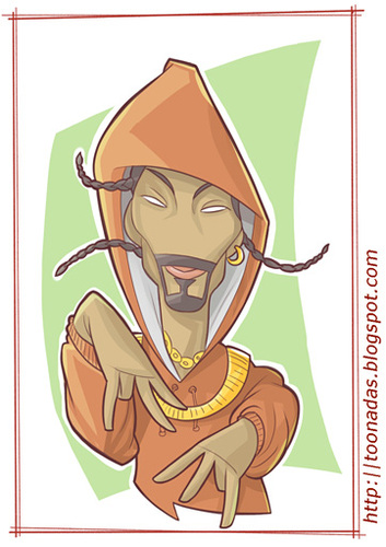 Cartoon: Snoop Dogg (medium) by Freelah tagged snoop,dogg,hip,hop,rap