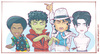 Cartoon: Michaels Jacksons (small) by Freelah tagged jackson thriller moonwalker