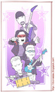 Cartoon: U2 (small) by Freelah tagged u2