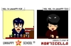 Cartoon: US lesson 0 Strip 41 (small) by morticella tagged uslesson0,unhappy,school,morticella,manga