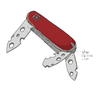 Cartoon: Swiss Army Knife (small) by Justinas tagged swiss,army,knife,schweizer,armeemesser