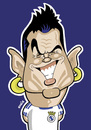 Cartoon: C Ronaldo (small) by Ca11an tagged cristiano,ronaldo,caricature,real,madrid,football