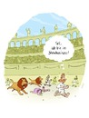 Cartoon: Tod und Spiele (small) by Weyershausen tagged showbusiness,löwen,rom
