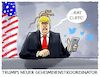 Cartoon: Baltimore-Twitter (small) by markus-grolik tagged donald,trump,us,usa,geheimdienst,ratcliffe,baltimore,cummings,twitter,demokraten,slum,armut,verelendung,rattenplage