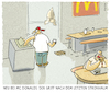 Cartoon: ...endlich... (small) by markus-grolik tagged plastikverbot,einwegplastik,europa,brüssel,mc,donald,fast,food,müll,umweltverschmutzung,plastikmüll,wegwerfgesellschaft
