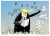 Cartoon: Readers Digest..... (small) by markus-grolik tagged bolton,donald,trump,impeachment,usa,us,ukraine
