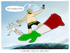 Cartoon: ...Salvini first... (small) by markus-grolik tagged lega,nord,sterne,koalition,salvini,italien,neuwahlen,rom,eu,europa,rechtsruck