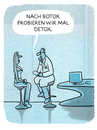 Cartoon: Behandlung (small) by markus-grolik tagged arzt,beauty,schönheitschirurgen,chirurgie,botox,detox