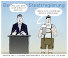 Cartoon: Söder Tourismus (small) by markus-grolik tagged söder,tourismus,bayern,lockerungen,pandemie,deutschland,csu