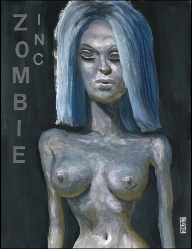 Cartoon: Zombie INC (medium) by greg hergert tagged zombies,fashion,supermadels