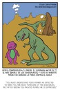 Cartoon: Disappointment (small) by Juan Carlos Partidas tagged barney,dinosaur,disappointment,rex,parents,son,family,tiranosaur