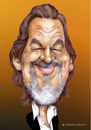 Cartoon: Jeff Bridges (small) by Szena tagged jeff,bridges,actor,caricature,hollywwod,film