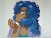 Cartoon: Melyona Close Up (small) by BDTXIII tagged retrogirlmelyona,bdtxiii