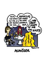Cartoon: Mimösen. (small) by Marcus Trepesch tagged girls,boys,life,cartoon,funnie,culture,nightlife