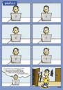 Cartoon: youface.com (small) by Marcus Trepesch tagged facebook,world,internet,social,media,tags,life,funnie,cartoon