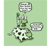 Cartoon: Inside the Kuh (small) by Ludwig tagged kuh,cow,tierarzt,veterinär,vet,pet,doc,bauer,landleben,vieh,rind