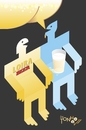 Cartoon: Beer Sex II (small) by Tonho tagged beer,sex