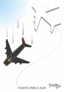 Cartoon: fly beyond (small) by Tonho tagged fly