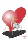 Cartoon: Heart Lock (small) by Tonho tagged lock,heart