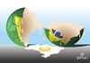 Cartoon: Hunger for what? (small) by Tonho tagged hunger,football,brazil