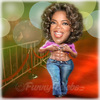 Cartoon: Oprah Winfrey (small) by funny-celebs tagged oprahwinfrey talkshowhost thecolorpurple theoprahwinfreyshow fitness perfect body stomach
