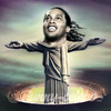 Cartoon: Ronaldinho (small) by funny-celebs tagged ronaldinho,football,team,soccer,marakana,brazil,goal