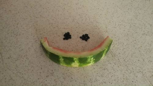 Cartoon: smile (medium) by aytrshnby tagged smiling,watermelon