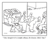 Cartoon: chumps (small) by creative jones tagged chump streetwise dumpster creative jones