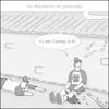 Cartoon: Disgruntled (small) by creative jones tagged disgruntled,baseball,testimony,comey