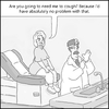 Cartoon: no problem (small) by creative jones tagged doctors,office,exam